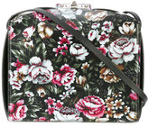 Alexander McQueen floral print shoulder bag - women - Calf Leather/Suede - One Size