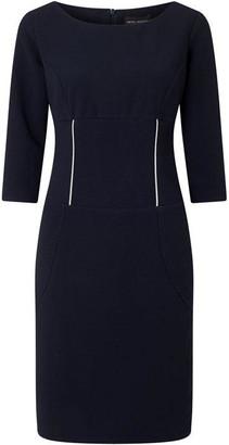 James Lakeland Zip Detail Dress