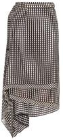 Preen by Thornton Bregazzi Lea wraparound silk skirt