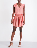 Claudie Pierlot Recif crepe mini dress