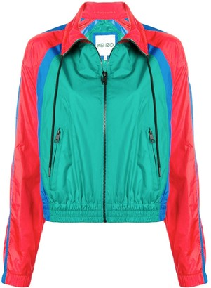 Kenzo Colour Block Track Jacket