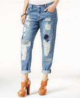 Jessica Simpson Monroe Ripped Boyfriend Jeans