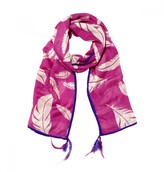 Mela Artisans Flight in Pink Scarf