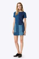 J Brand Luna Shift Dress in Rosemary Mix