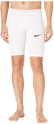 Nike Pro Shorts Long (Black/White) Men's Shorts