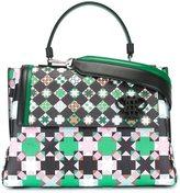 Emilio Pucci geometric pattern medium tote