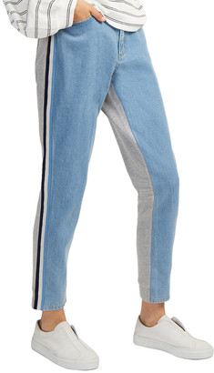French Connection Jogger Denim Sport Stripe Jean