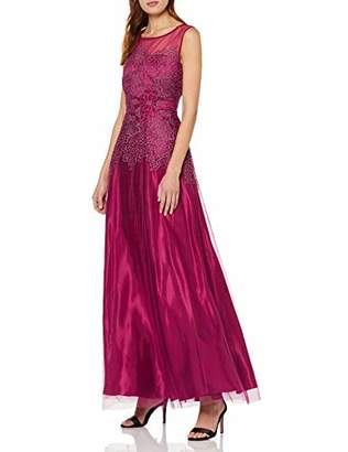 Vera Mont Women's 2179/3636 Party Dress, (Berry Red 4723), (Size: 46)