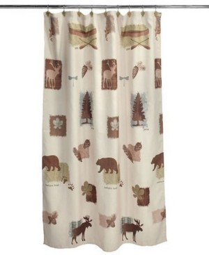 Saturday Knight Ltd. Natures Trail Shower Curtain Bedding
