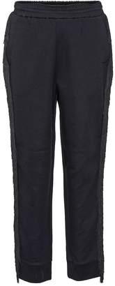 Stella McCartney Fringe cotton-blend trousers