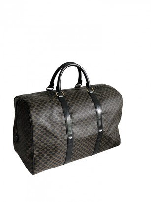 Celine Black Synthetic Travel bags