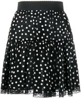 Dolce & Gabbana Polka Dot Print Skirt