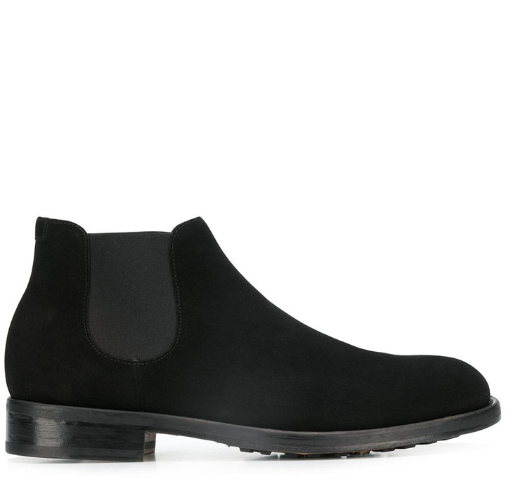 5a23fad80e5 slip-on suede chelsea boots