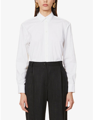 LA COLLECTION Emilia regular-fit stretch-cotton shirt
