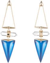 Alexis Bittar Rock Crystal Dangling Post Drop Earring