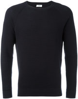 Closed textured sweatshirt - men - Cotton - S
