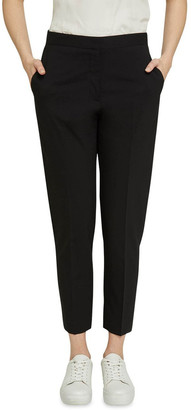Oxford Charla Black Wool Stretch Suit Pants