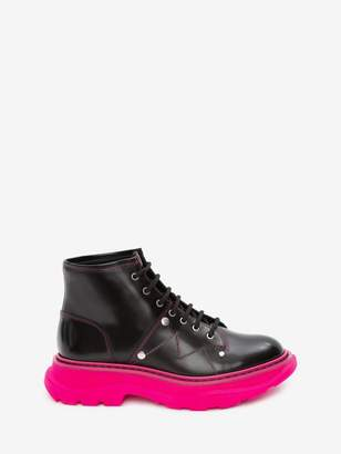 Alexander McQueen Tread Lace-Up Boot