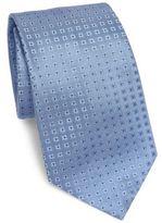 Armani Collezioni Square Patterned Silk Tie
