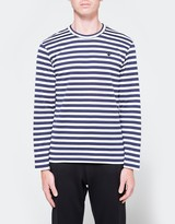 Comme des Garcons Play Striped T-Shirt