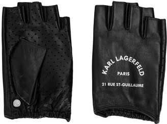 Karl Lagerfeld Paris Rue St Guillaume fingerless gloves