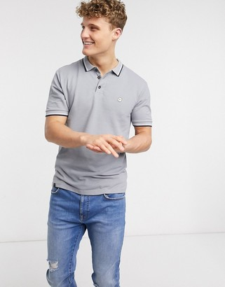 Le Breve tipped slim fit polo shirt