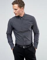 Jack and Jones Slim Premium Long Sleeve Smart Shirt