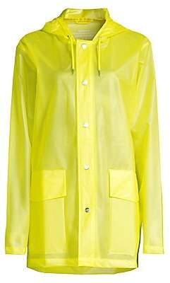 Rains Women's Ltd Short Hooded Rain Coat