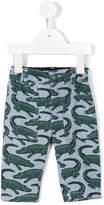 Stella McCartney crocodile print trousers