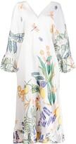 Thumbnail for your product : La DoubleJ Tangier kaftan dress