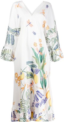 La DoubleJ Tangier kaftan dress
