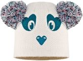 Animal Mollines Panda Pom Ears Beanie