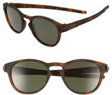 Oakley Men's 'Latch(TM)' 53Mm Retro Sunglasses - Brown