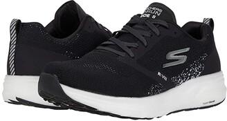 Skechers Go Run Ride 8 (Navy/Green) Men's Shoes