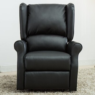 Red Barrel Studio Anita Faux Leather Manual Recliner