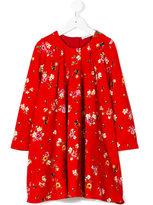 Dolce & Gabbana gathered neck ladybug dress