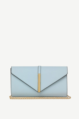 Ardene Faux Leather Envelope Clutch