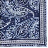Paolo Albizzati Men's Paisley Silk Twill Pocket Square