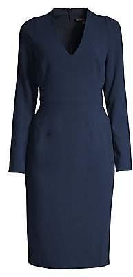 Black Halo Women's Long-Sleeve Mindy Sheath Dress