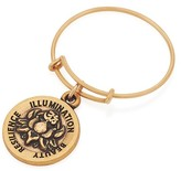 Alex and Ani LOTUS PEACE PETALS Expandable Wire Ring