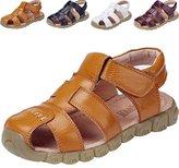 DADAWEN Boys Girls Closed Toe Outdoor Sandal (Baby boy/Toddler/Little Kid/Big Kid)- 2 US