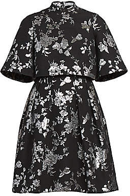 Erdem Women's Favilla Lurex Rose Jacquard Dress