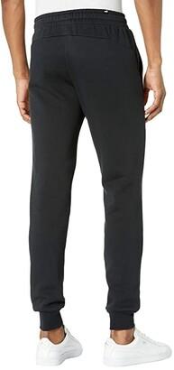 Puma Big Tall Essential Logo Pants Fleece Closed Bottoms