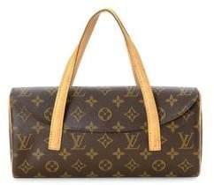 Louis Vuitton Vintage Monogram Sonatine Canvas Top Handle Bag