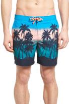 Original Penguin Sunset Beach Board Shorts