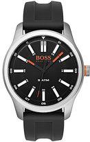 Boss Orange Men's Black Silicone Strap Watch