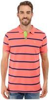 U.S. Polo Assn. Stripe Pique Polo Shirt