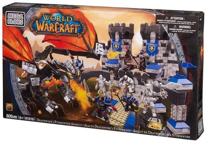 Mega Bloks World of Warcraft Deathwing's Stormwind Assault by 91016