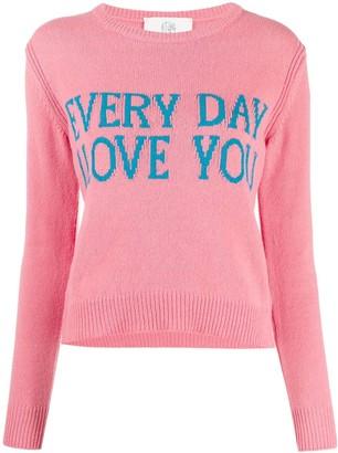 Alberta Ferretti Everyday I Love You jumper