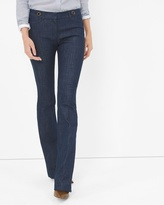 White House Black Market Trouser Flare Jeans